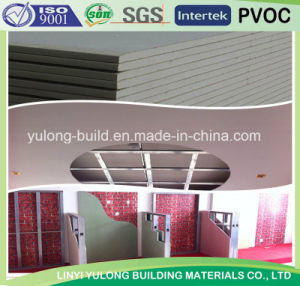 Good Quality Gypsum Board for Wall Partition/Ceiling pictures & photos