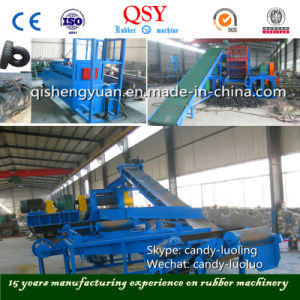 Full Automatic Rubber Powder Process Line pictures & photos