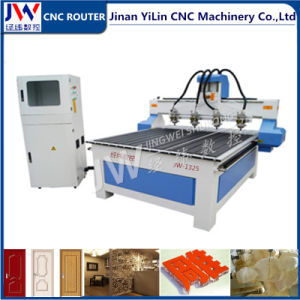 4 Spindles CNC Router for 3D Stereoscopic Relief CNC Engraving pictures & photos