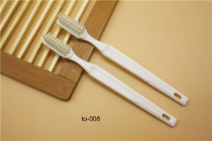 Hotel Amenities Toothbrush 2 Hotel Amenities Toothbrush Factory OEM pictures & photos