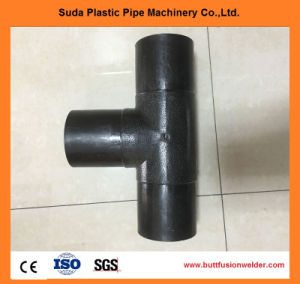 High Quality HDPE Pipe Fitting Equal Tee pictures & photos