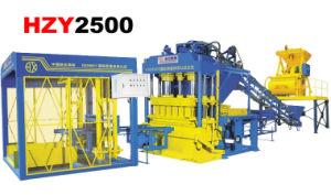 HZY-2500 Hydraulic Pressure Concrete Brick Making Machine