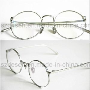 Customized Antique Full Rim Beta Titanium Optical Eyeglasses Frames pictures & photos