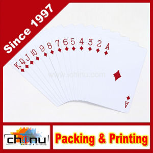 Logo Printed Plastic Playing Cards pictures & photos