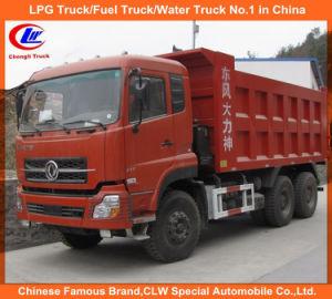 10 Wheels 20cbm Dongfeng Dalishen Dumper Truck/Tipper Truck pictures & photos