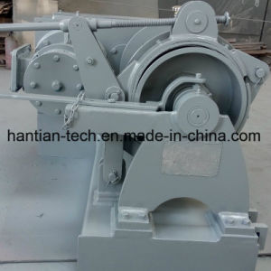 Solas 0.45ton Small Winch for Boat and Vessel (HTEMW0.45) pictures & photos