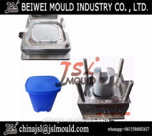 Customized Injection Plastic Household Dustbin Mould pictures & photos