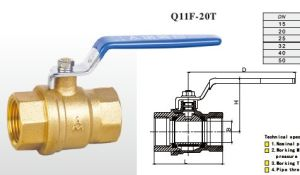 (A) Copper Ball Valve for Water pictures & photos