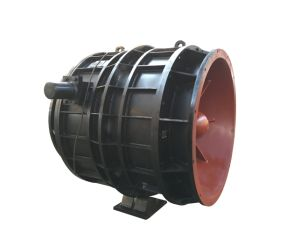 Submersible Pump with Impeller Built-in Rotor Type Axial Flow Pump