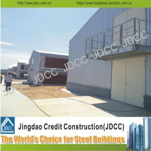 Two Storey Chicken House Galvanized Steel Structure pictures & photos