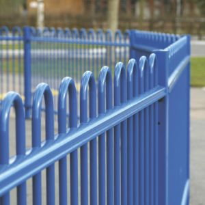 Spraying Powder Bow Top Fencing pictures & photos