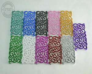 Hollow out Vines Art for iPhone 4 Flower Electroplating+PC Hard Case (CI4-022)