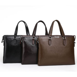 Direct Factory Classic Genuine Leather Business Handbags