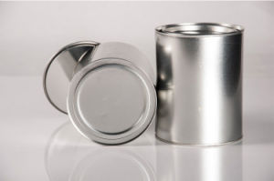 Round Tin Box with Airtight Lid pictures & photos