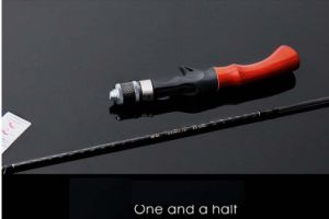 1.68m UL Action Carbon Lure Rod Gun Reel Seat and Spinning Reel Seat Lure Pole pictures & photos
