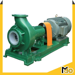 Electric Fluorine Plastic End Suction Chemical Pump pictures & photos