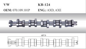 Auto Camshaft for VW (070.109.101p) pictures & photos
