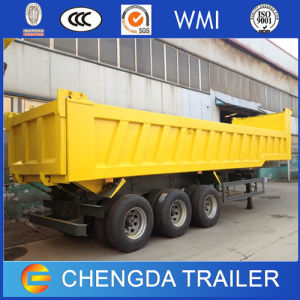 3 Axles 50ton Tipper Trailer for Sale pictures & photos