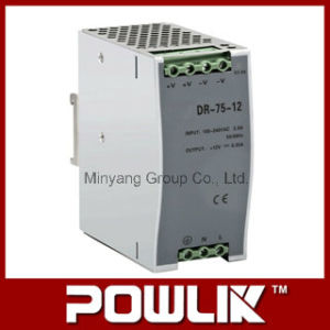 75W DIN-Rail Switching Power Supply for 12V, 24V, 48V (DR-75) pictures & photos