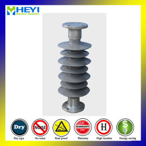 24kv Power Transmission Silicon Rubber Composite Post Insulator pictures & photos