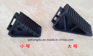 Factory Directly Sale Black Rubber Wheel Chock pictures & photos