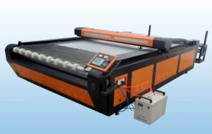Laser Cutting Machine for Fabric Cloth Garments Leather Flc1325c pictures & photos