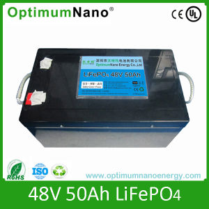 Hot Selling 48V 50ah LiFePO4 Battery Packs for Solar System pictures & photos