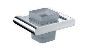 Modern Style Suqare Solid Brass Bathroom Tumbler Holder Bathroom Accessories pictures & photos
