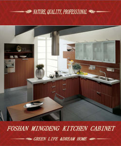 2015 MDF Melamine Kitchen Cabinets with Modern Design (ZS-383) pictures & photos