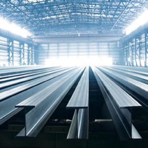 Customed Steel H-Beams in China pictures & photos