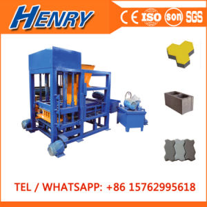 Qt4-20 Hydraulic Concrete Hollow Block Cabro Brick Block Making Machine for Sale in Philippines pictures & photos