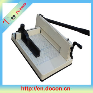 DC-858A3 Manually Paper Cutter pictures & photos