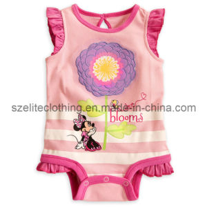 Cute Embroidered Boby Girl Onesie (ELTCCJ-83) pictures & photos