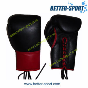 China Leather Boxing Glove, Competition Boxing Gloves pictures & photos