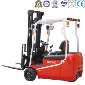 1600kg 3-Wheel Electric Forklift pictures & photos