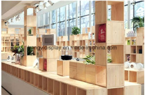 Unique Decoration Retail Mall Cosmetic Display Units with Drawer pictures & photos