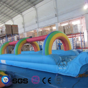Coco Water Design Inflatable Rainbow Theme Water Slide LG9055 pictures & photos