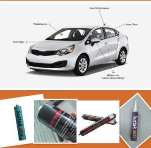 PU (Polyurethane) Windscreen Replacement Adhesive Sealant (Surtek 3355) pictures & photos