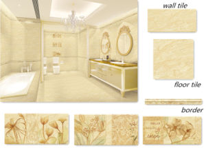Non Slip Acid Resistant Glazed Ceramic Wall Floor Tiles pictures & photos