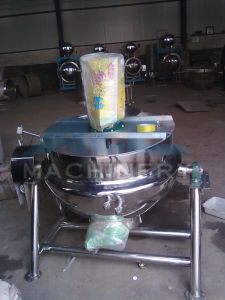 Vertical Electric Jackted Kettle for Food pictures & photos