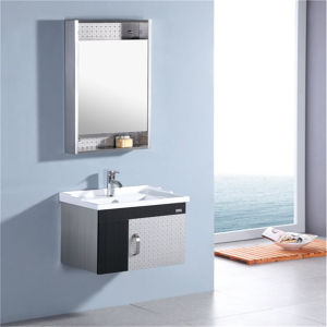 China Cheap Wall Mounted Stainless Steel Bathroom Cabinet - China ...