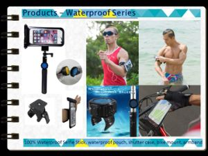 Waterproof Bluetooth Selfie Stick with Sport Kit Set for Smartphone pictures & photos