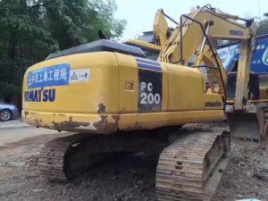 Original Colour Used Komatsu PC200-7 Crawler Excavator Good Condition and Best Price pictures & photos