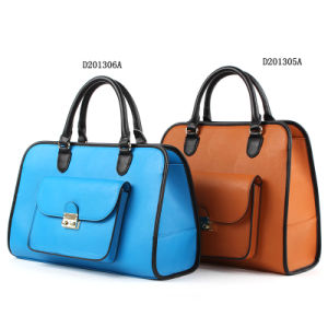 Poplular and Fashion Ladies PU Tote Bag/Handbag (D201306A) pictures & photos