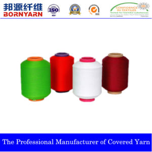 Elastic Nylon Covered Yarn Produced by Qingdao Bangyuan pictures & photos