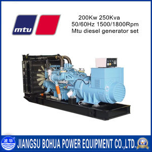 250kVA China Made Diesel Generator Powered by Mtu Engine