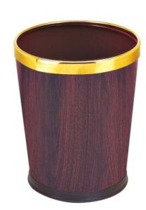Guestroom Dustbin with Iron Coated (KL-008) pictures & photos