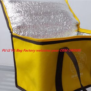 Factory Wholesale Lunch Insulated Cooler Bag Handbags with Customised Logo pictures & photos