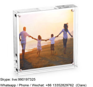 Cheap Crystal Acrylic Picture Display Frame pictures & photos