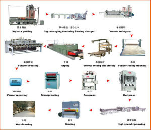 Building Materials Machinery Woodworking Production Line pictures & photos